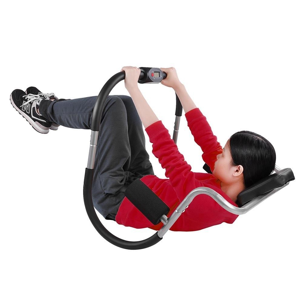 Crunch abdominal exercise trainer roller ab fitness gym