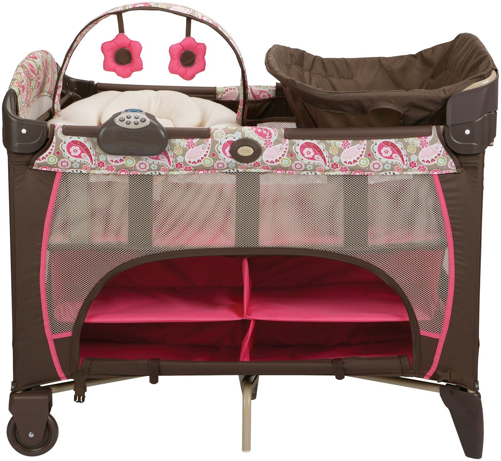 44ffb8004 Graco Newborn Napper Pack N Play Deluxe - Jacqueline - Best Price ...