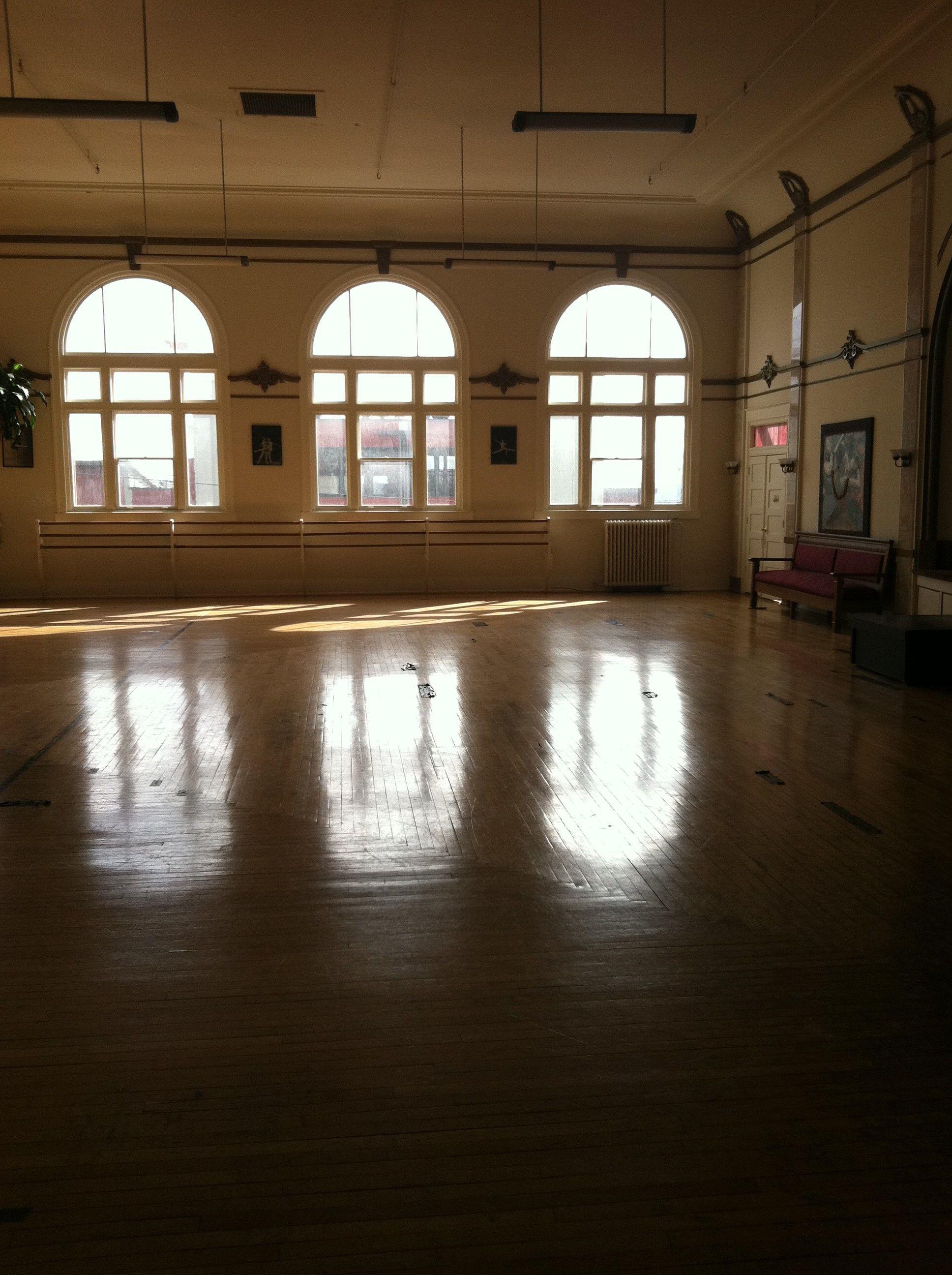Ballet Studio Used Dance In. Big Deal