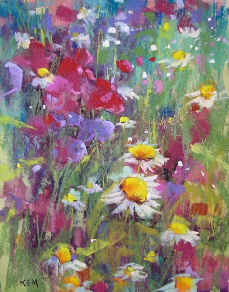 Znalezione obrazy dla zapytania painting flowers   łąka   Pinterest ...