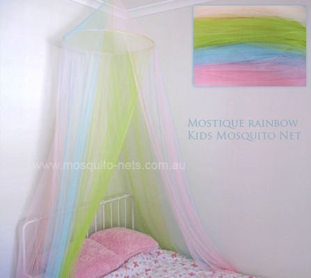 Rainbow Princess Mosquito Net Bed Canopy : princess emily canopy bed - memphite.com
