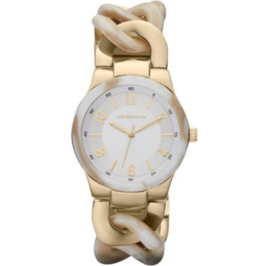 Liz Claiborne Womens Simulated Horn Chunky Link Bracelet Watch  found at @JCPenney