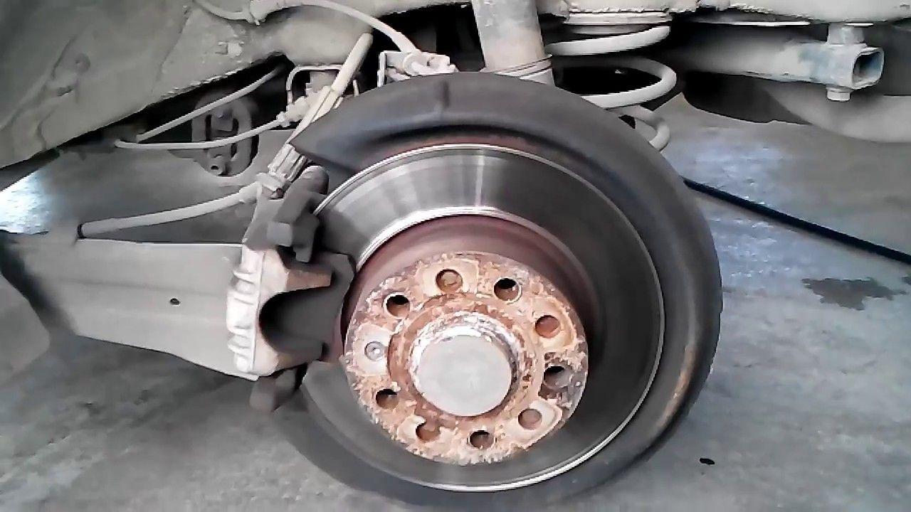 Diy Skoda Octavia How To Replace Rear Brake Pads Rear Brake Pads