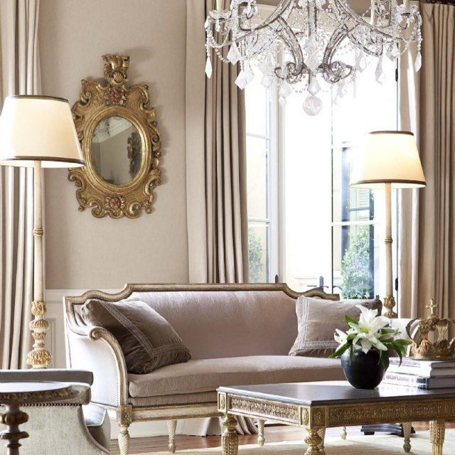 Elegant Grey And Taupe Living Room: Good Morning! Starting The Day Off With A Little #ebanista