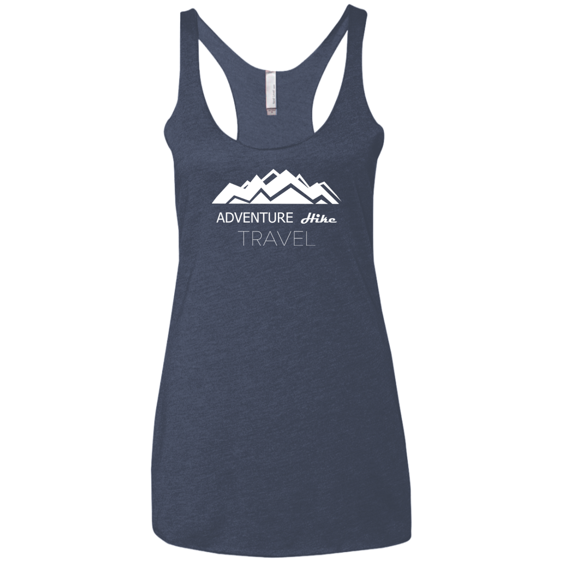 Adventure Hike Travel Next Level Ladies Triblend Racerback Tank In 2020 Adventure Outfit Hiking Shirts Hiking Tank