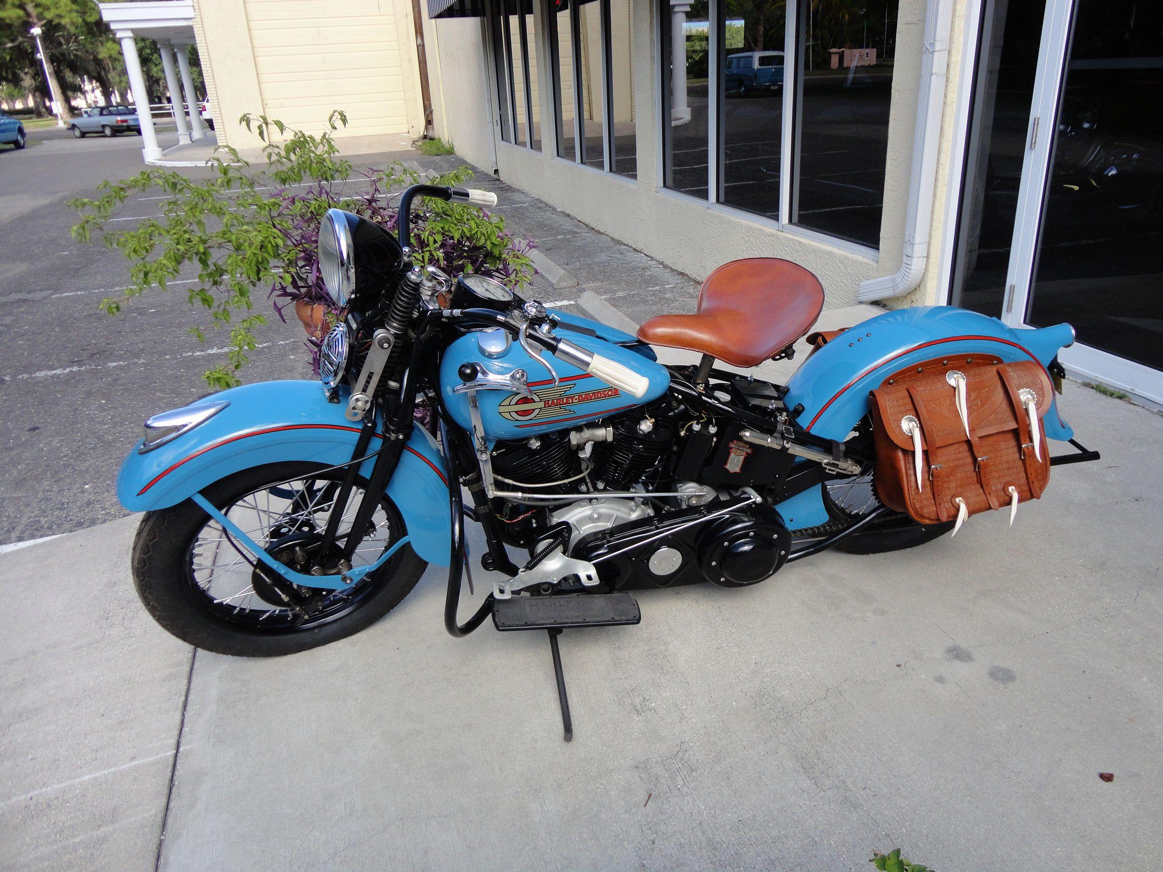 1938 Harley Davidson Knucklehead With Images Vintage Harley