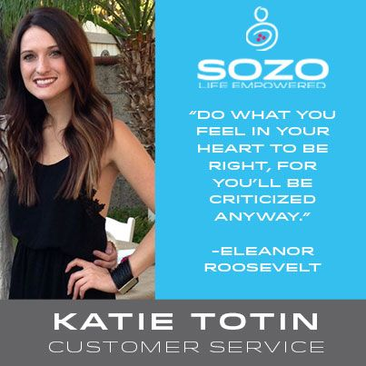 One of our Customer Service ladies, Katie Totin, has found the perfect recipe to make her SOZO coffee delicious: infused with vanilla coconut milk and raw sugars. She's also been seeing a healthier complexion, thanks to SoRadiant, which she uses twice a week at night. She's shown us how she lives the #SOZOLife, what about you? Tell us below!