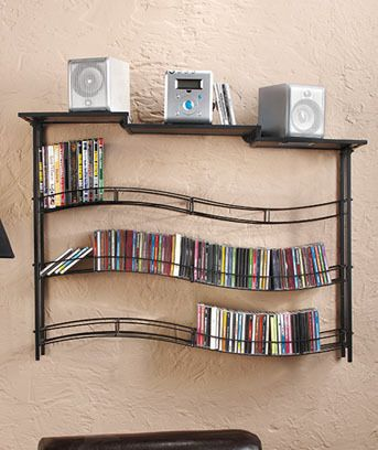 Wall Mounted Dvd Rack Keep Those Ers Free From Baby Hands