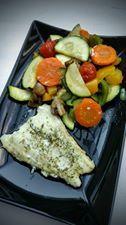 Kabeljauw met groentjes in de oven - Powered by @ultimaterecipe