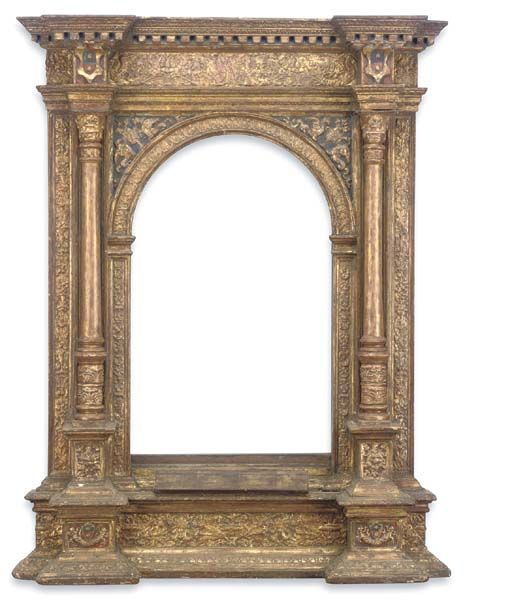 Decorative Arts Antique Miniature Paint With Awesome Frame 2 Superior Materials
