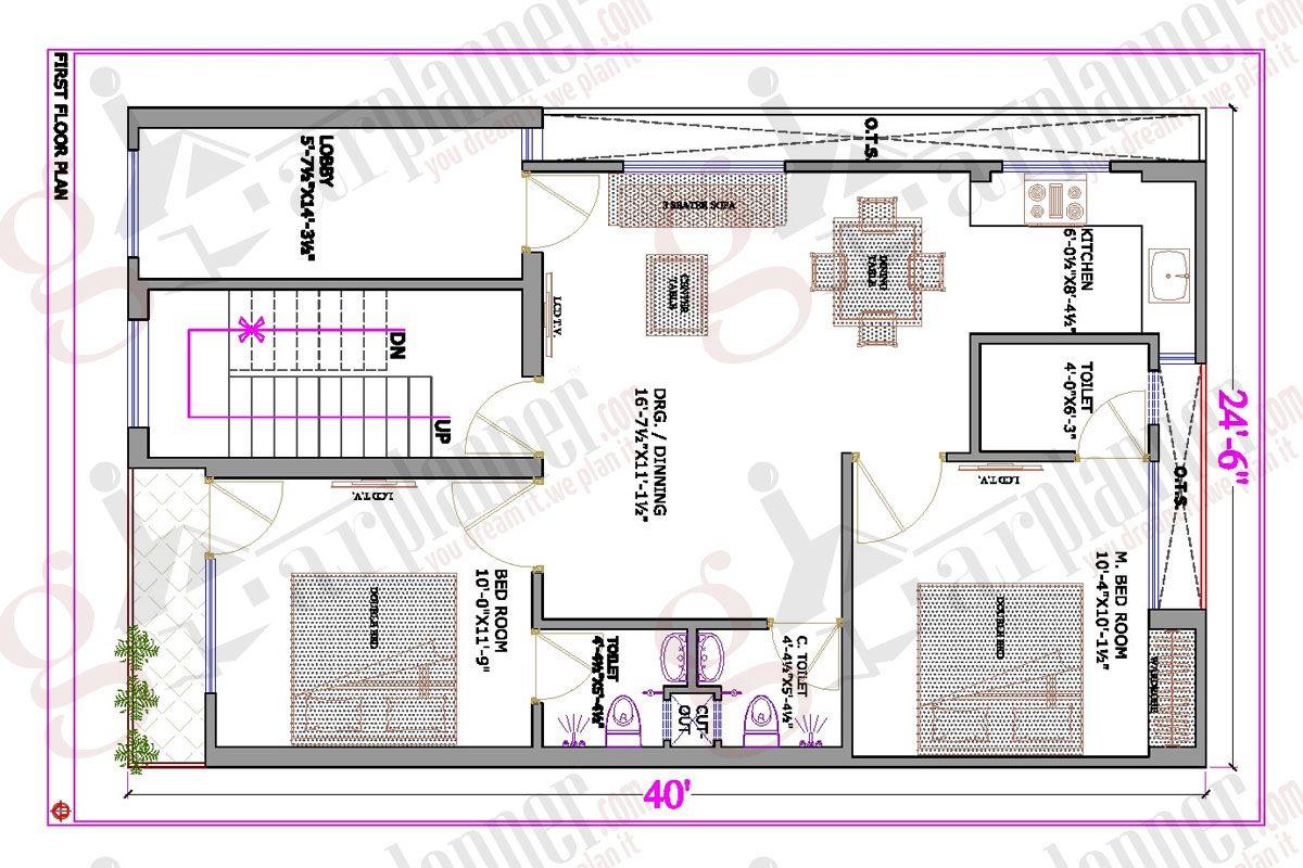 Www Gharplanner Com Project Details Gphp 0011 Html Indian House Plans 30x50 House Plans Affordable House Plans