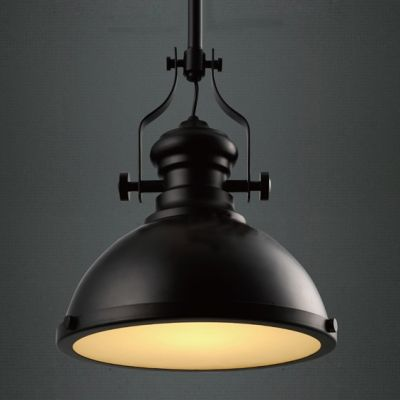 Industrial Country Painting Black Colored Large Pendant Light Will Light Up Your Hou Large Pendant Light Fixtures Large Pendant Lighting Pendant Light Fixtures