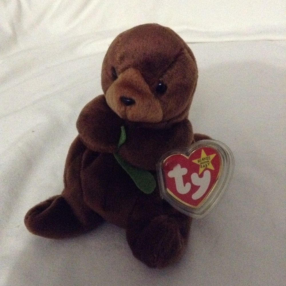 Pleasant Ty Beanie Baby Seaweed The Sea Otter 1996 Retired Plush 4080 Gmtry Best Dining Table And Chair Ideas Images Gmtryco