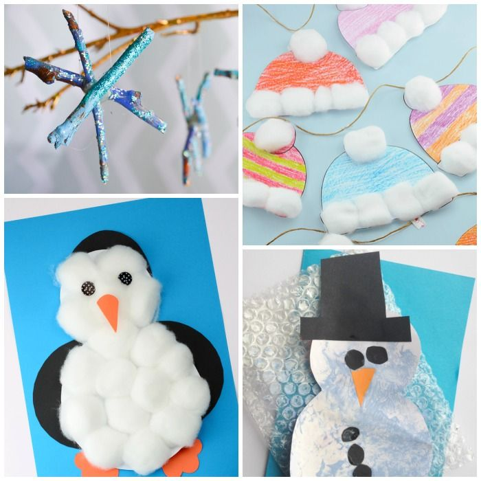 Simple Winter Crafts For Toddlers Crafts For Kids Pinterest