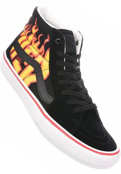 Vans Sk8-Hi Pro x Thrasher Schuhe Jungs black | Titus Onlineshop