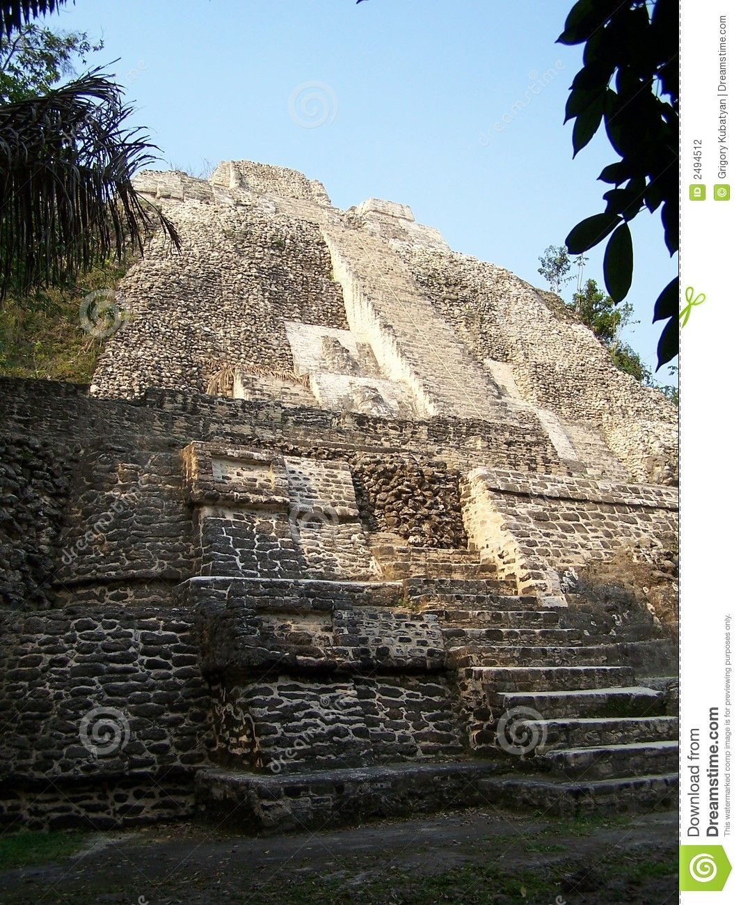 Lamanai site is one of the oldest continuously occupied Maya sites in Belize, from about 1500 BC when maize was being grown at the site, to 1680 AD. ,