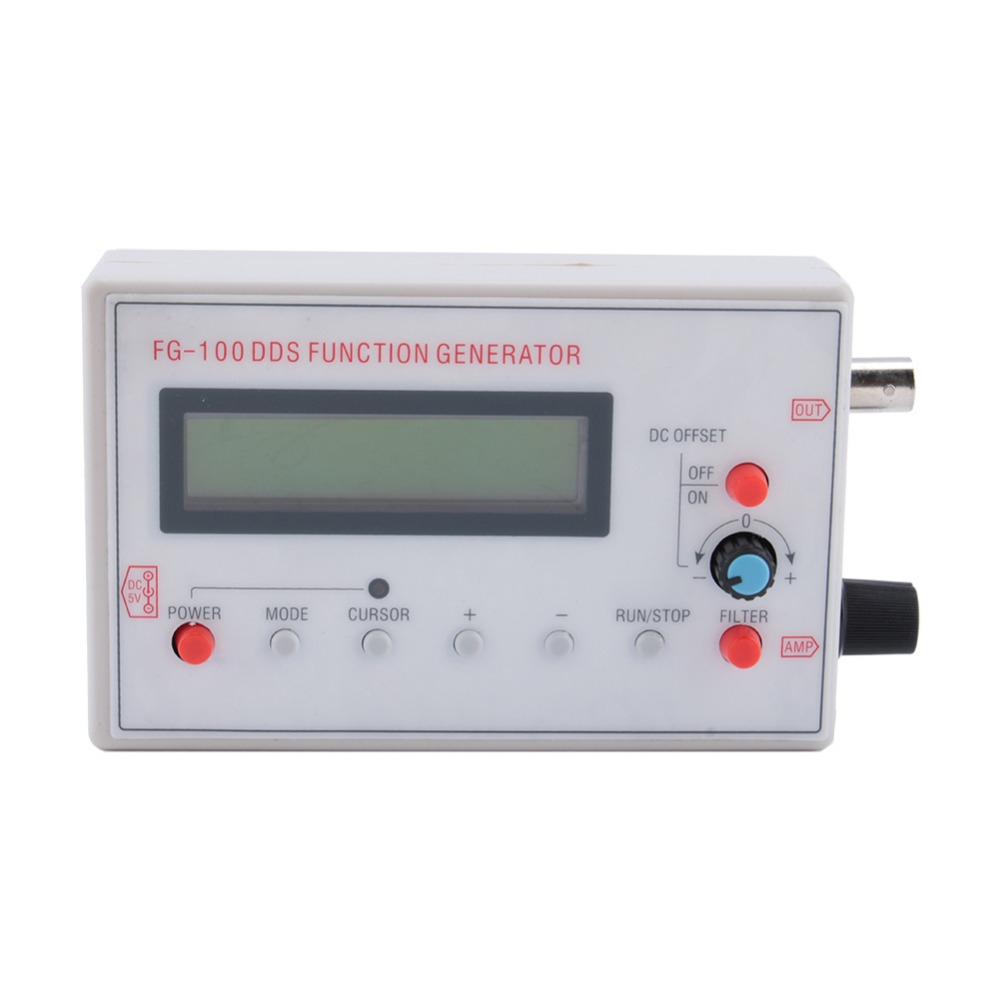 (29.60$)  Buy here  - 1HZ-500KHz DDS Function Signal Generator Source  Frequency Counter