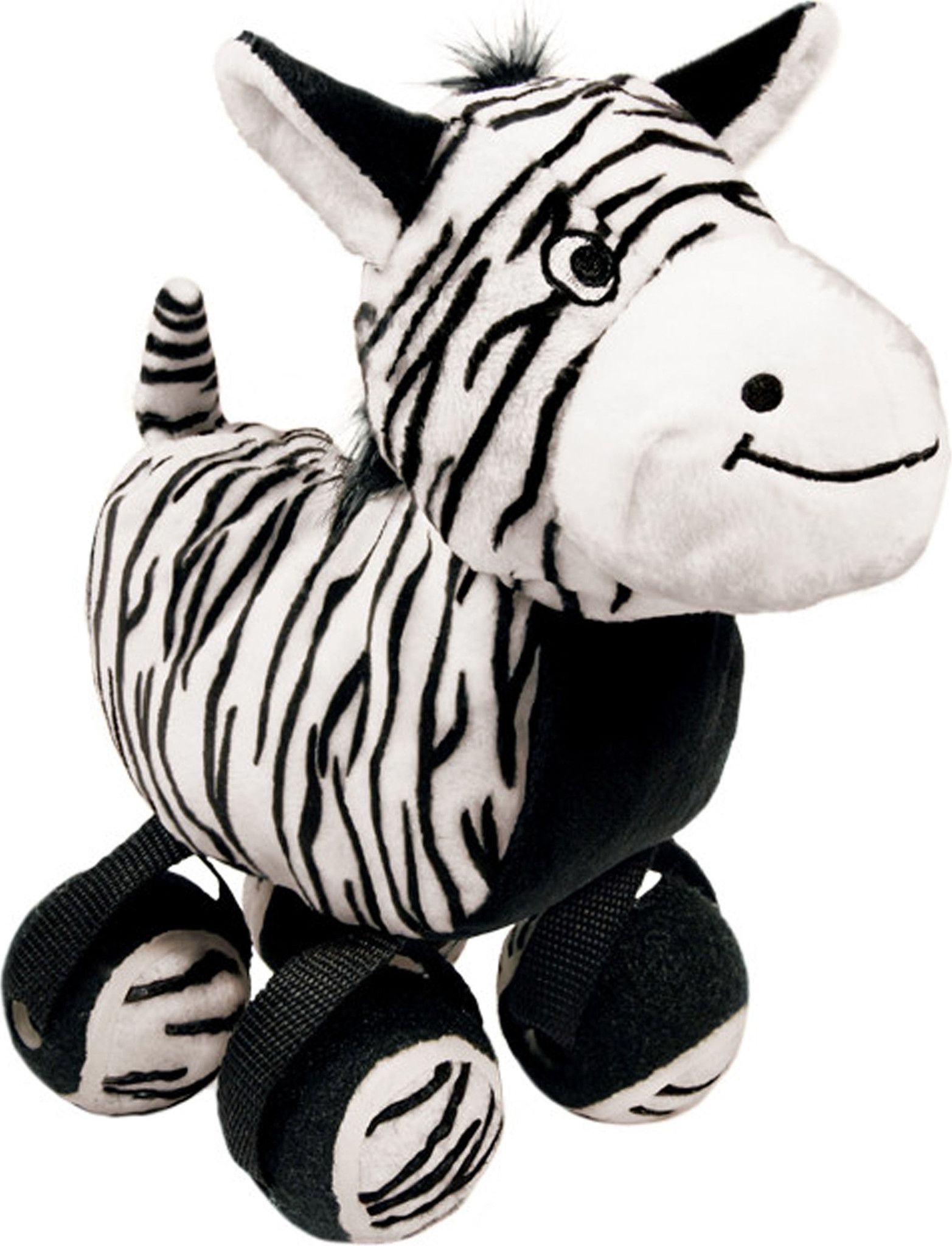 Tennishoes Zebra Plush Dog Toys Small Dog Toys Dog Toys