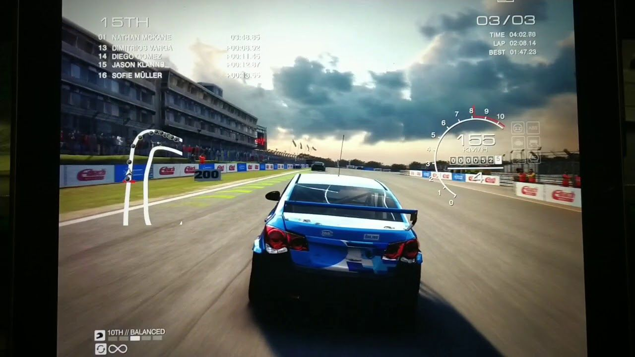 GRID AUTOSPORT Race IPAD PRO STEELSERIES NIMBUS CONTROLLER