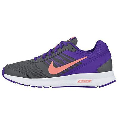 the best attitude 3e36b 8f9d4 Nike Air Relentless 5 Womens 807098-007 Grey Purple Pink Running Shoes Size  9