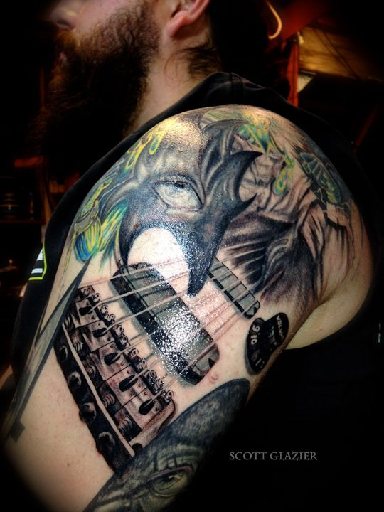 Heavy Metal Tattoo Sleeve   Metal tattoo, Heavy metal
