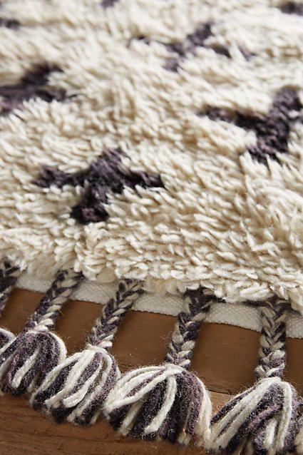 Moroccan Cross Rug Rugs Hand Weaving