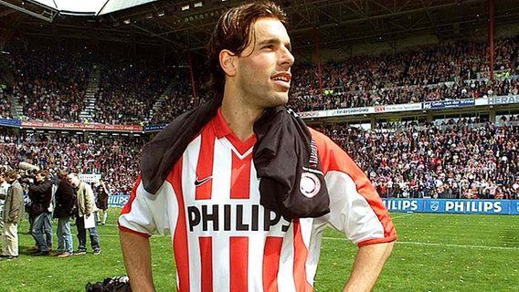 Ruud van Nistelrooy im Trikot des PSV Eindhoven © picture-alliance / dpa