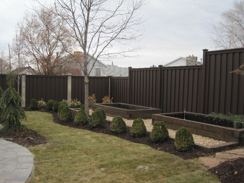 8 foot composite fence cost buy composite privacy fence los angeles