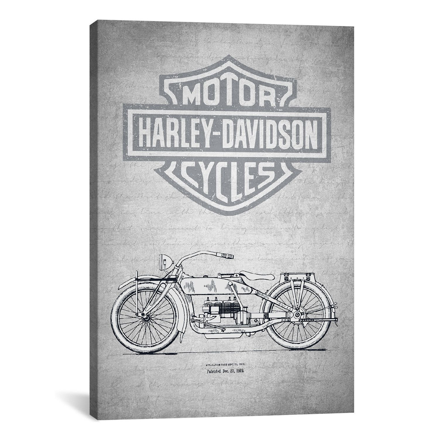 Harley Davidson Motorcycles I Retrieved from the archives of the