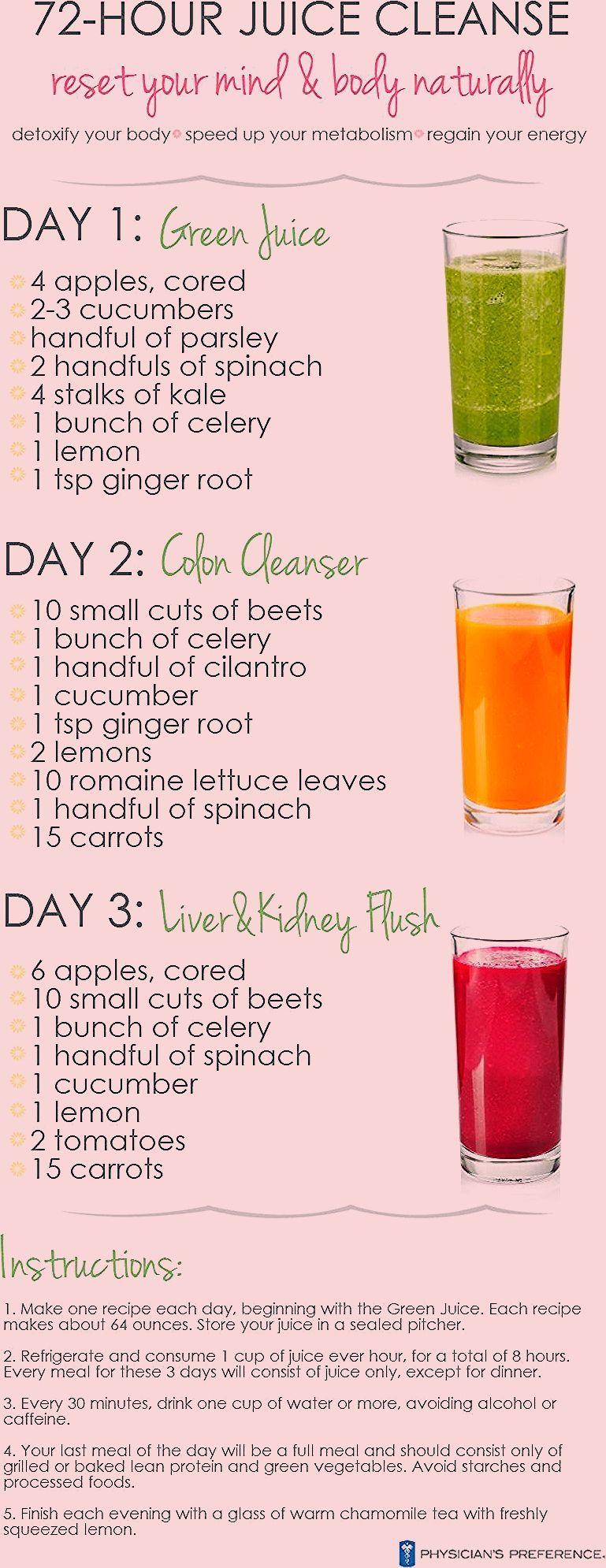 liquid diet gi cleanse