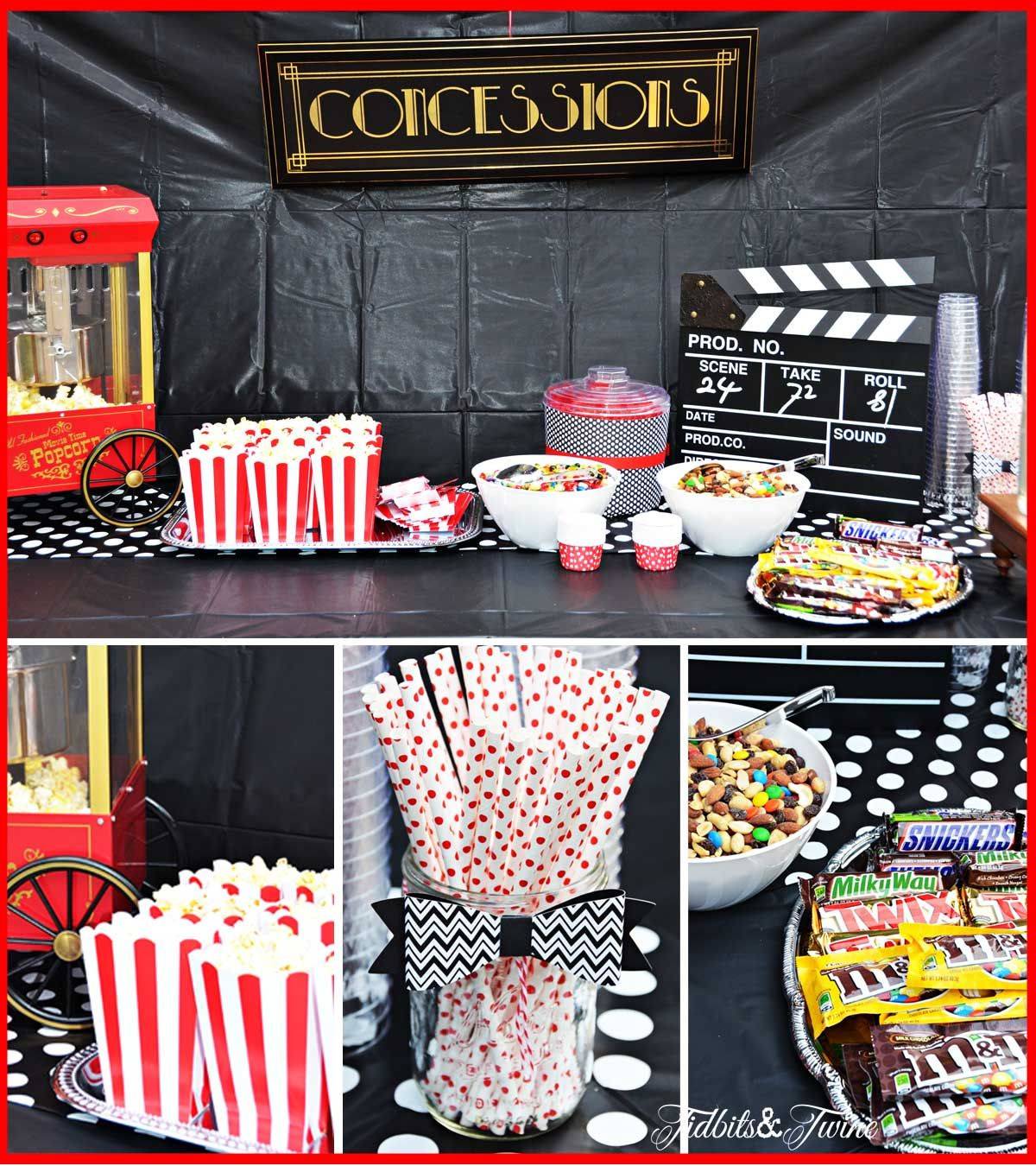 Concession Stand For Theater Room With Images: Image Result For Movie Party Concession Stand