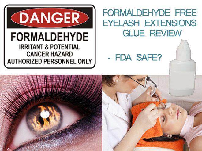 Formaldehyde Free Eyelash Extension Glue Reviews Fda Safe