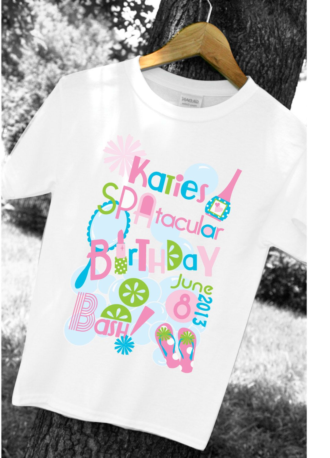 This listing is for one tshirt printable including all your childs ...