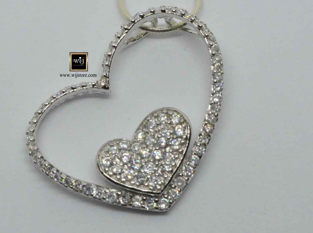 كود 167 تعليقة فضة نسائى Diamond Bracelet Jewelry Diamond