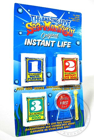 Sea Monkeys Original Instant Life Eggs Sea Monkeys Instant Life Toy Collection
