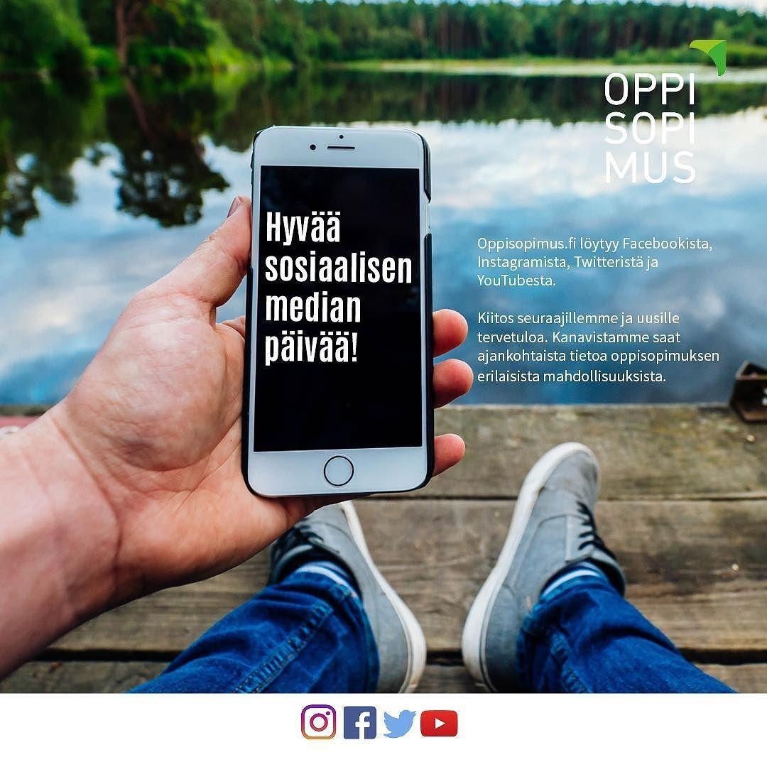 #oppisopimus #sosiaalisenmedianpäivä #socialmediaday
