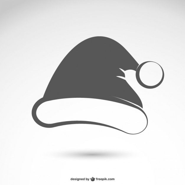 Download Black And White Santa Claus Hat For Free Santa Claus Hat Santa Hat Clipart Santa Claus Vector
