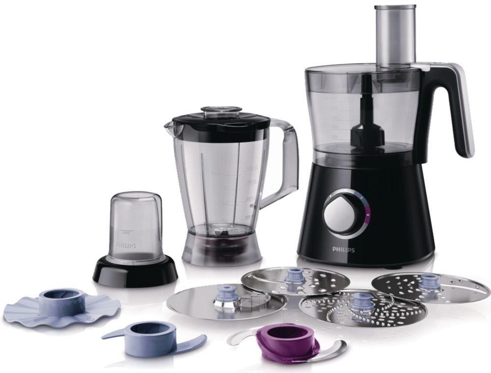 Philips HR7762 90 Küchenmaschine (28 Funktionen, Standmixer, 750 - jamie oliver küchenmaschine
