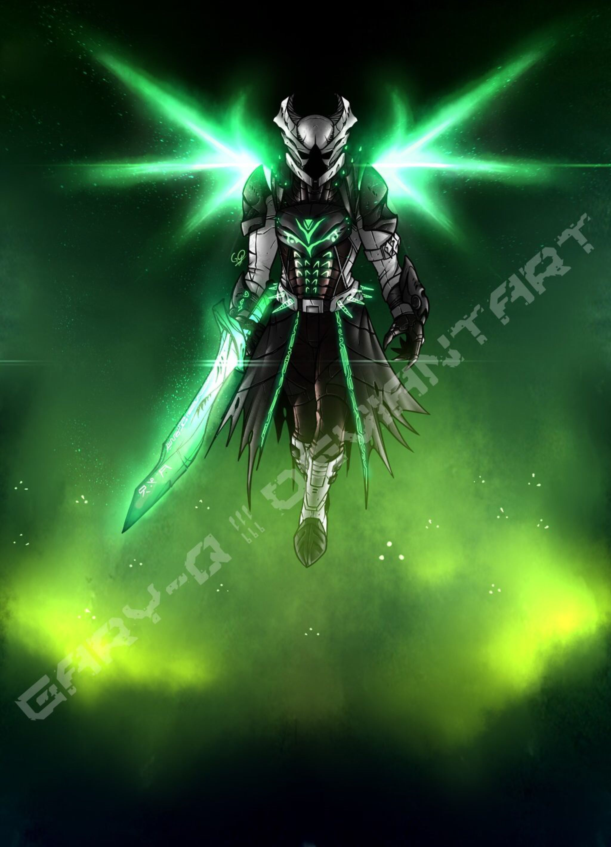 Hive Warlock (Commission) by Dominus-Gary on @DeviantArt