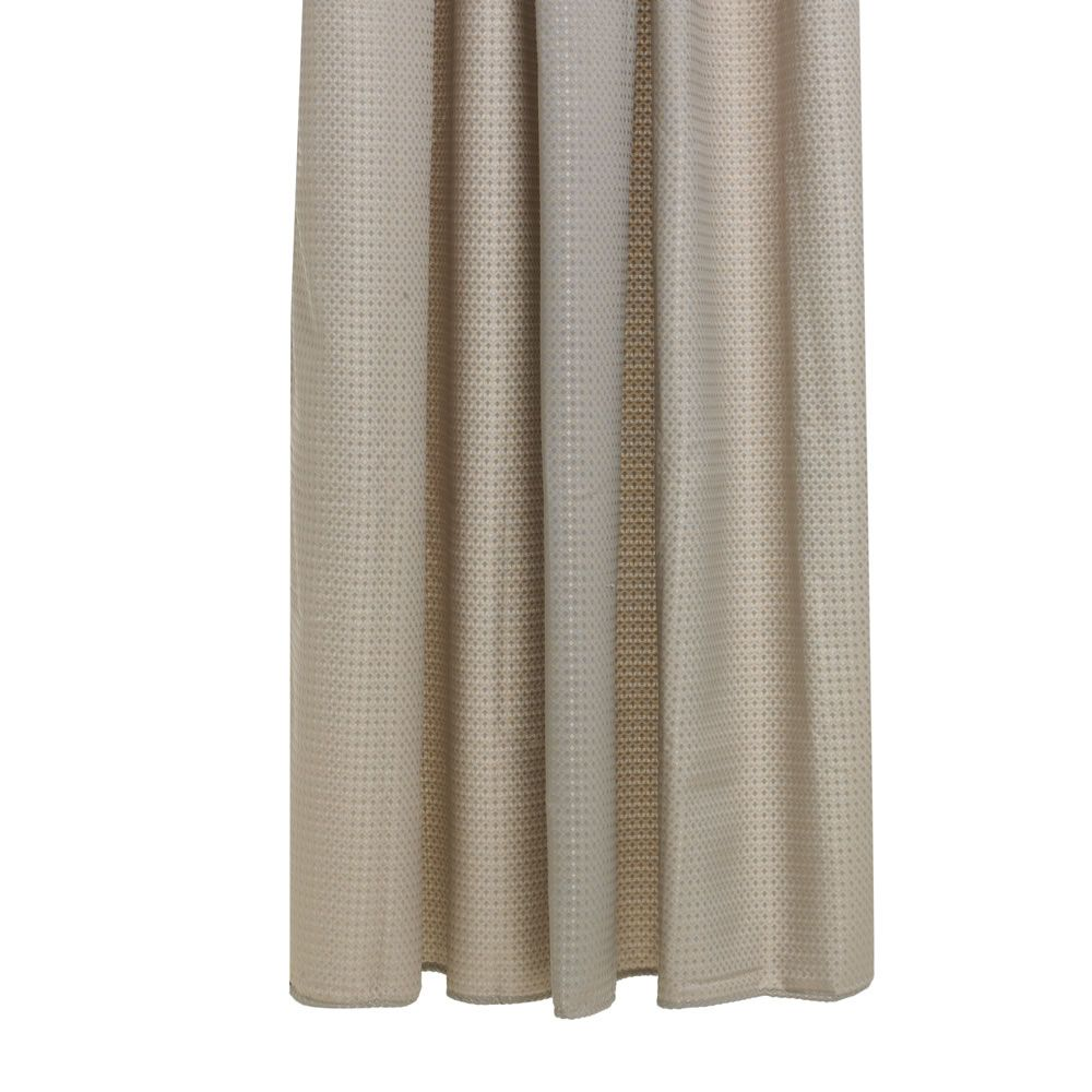 wilko shower curtain waffle beige at bathroom. Black Bedroom Furniture Sets. Home Design Ideas