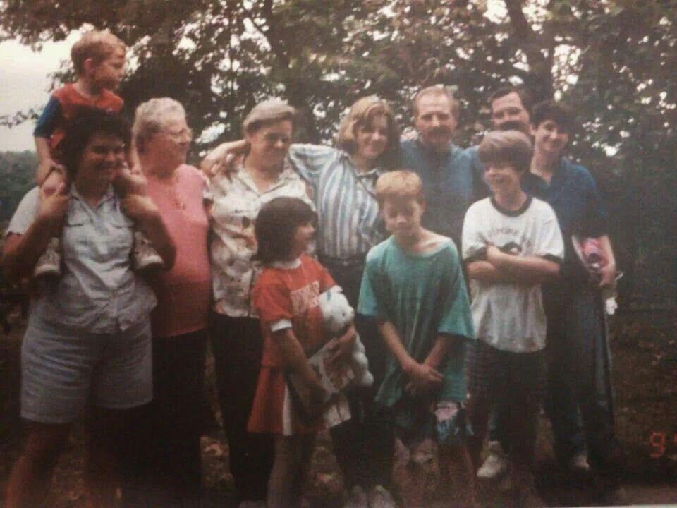 Aunt bernie aunt liz her boys and grand kids elaine y tim