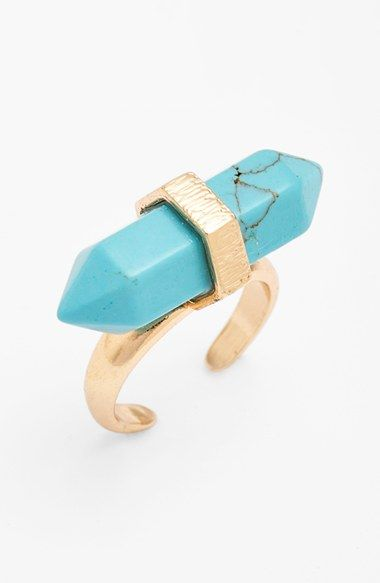 Panacea 'Spike' Semiprecious Stone Ring available at #Nordstrom