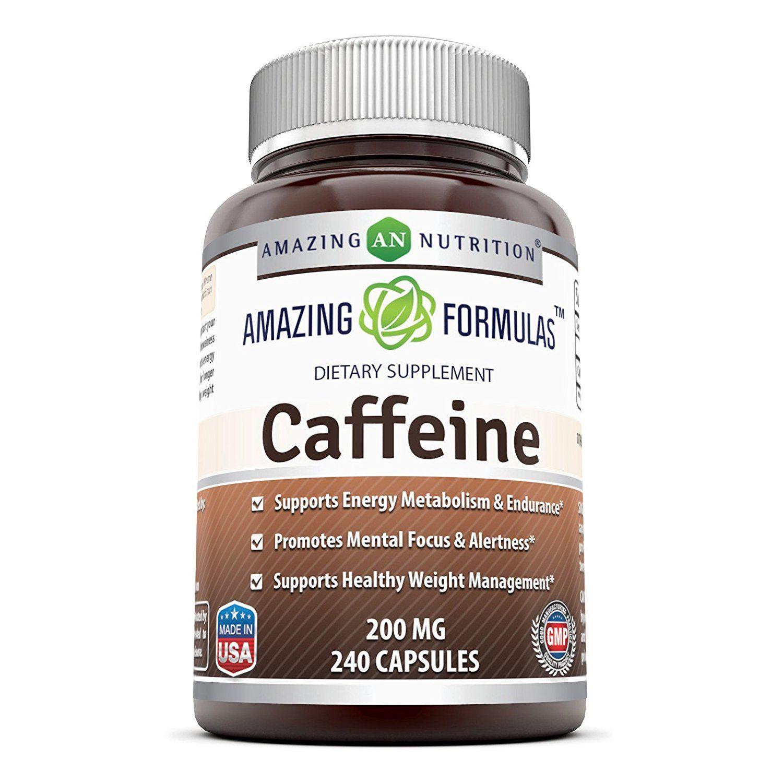 Amazing Formulas Caffeine 200 Mg 240 Capsules
