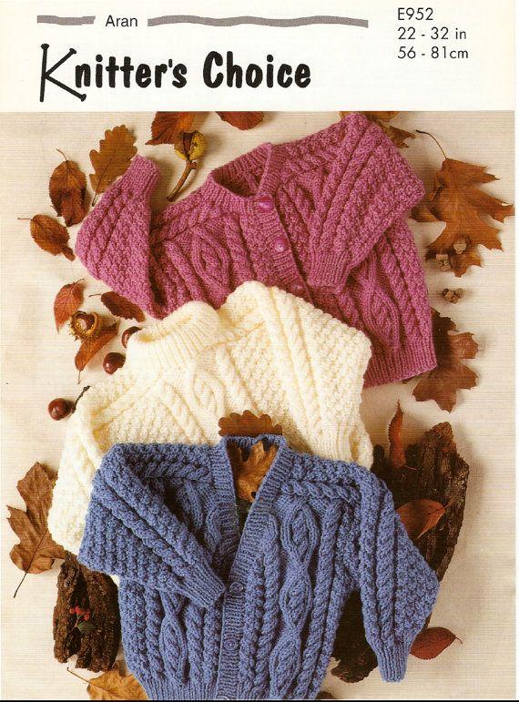 Vintage Pdf Childrens Knitting Pattern Knitters Choice E952