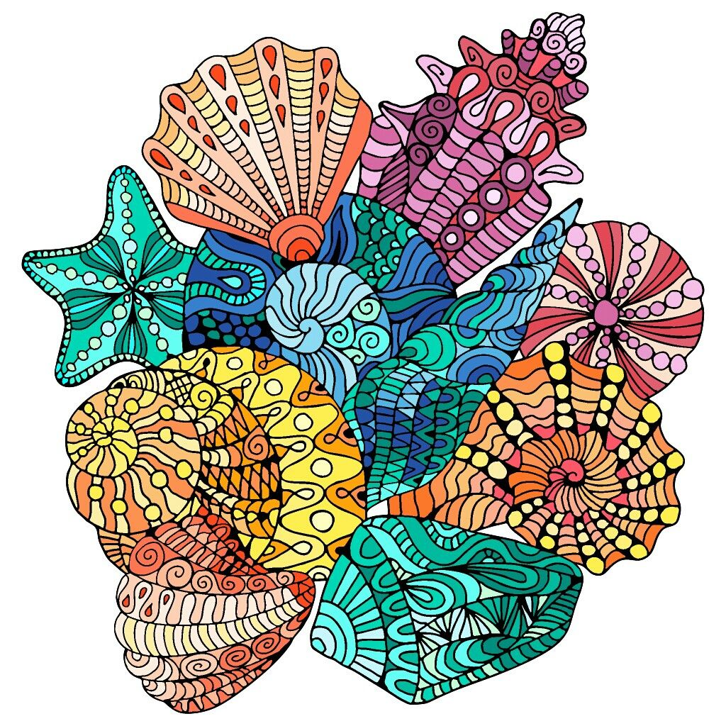 Pin by Clarita Escriba on MANDALAS | Pinterest | Doodles, Johanna ...
