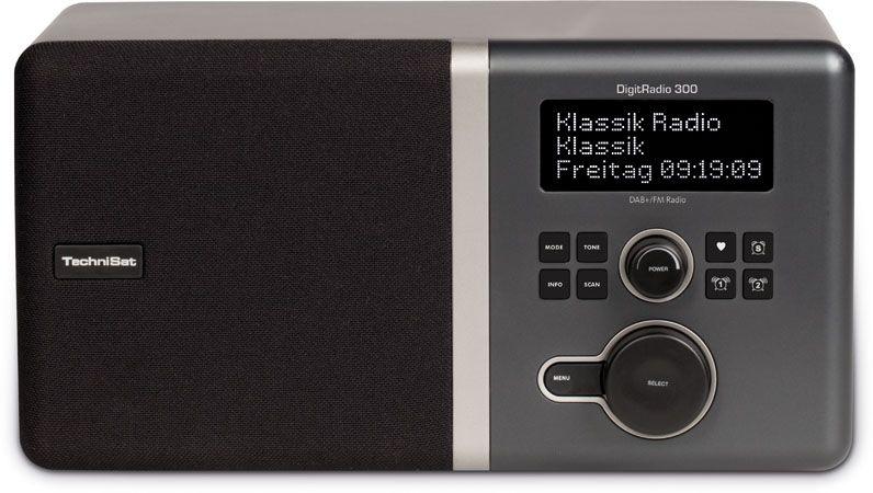 Technisat Digitradio 300 Schwarz Incl Dab Dab Kitchen Kitchen Appliances