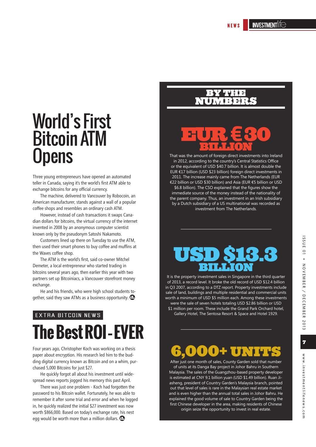 Investment Life Magazine November December 2013 Investing Life