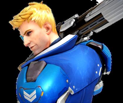 Overwatch Strike Commander Morrison Render By Popokupingupop90 Overwatch Fan Art Overwatch Soldier 76