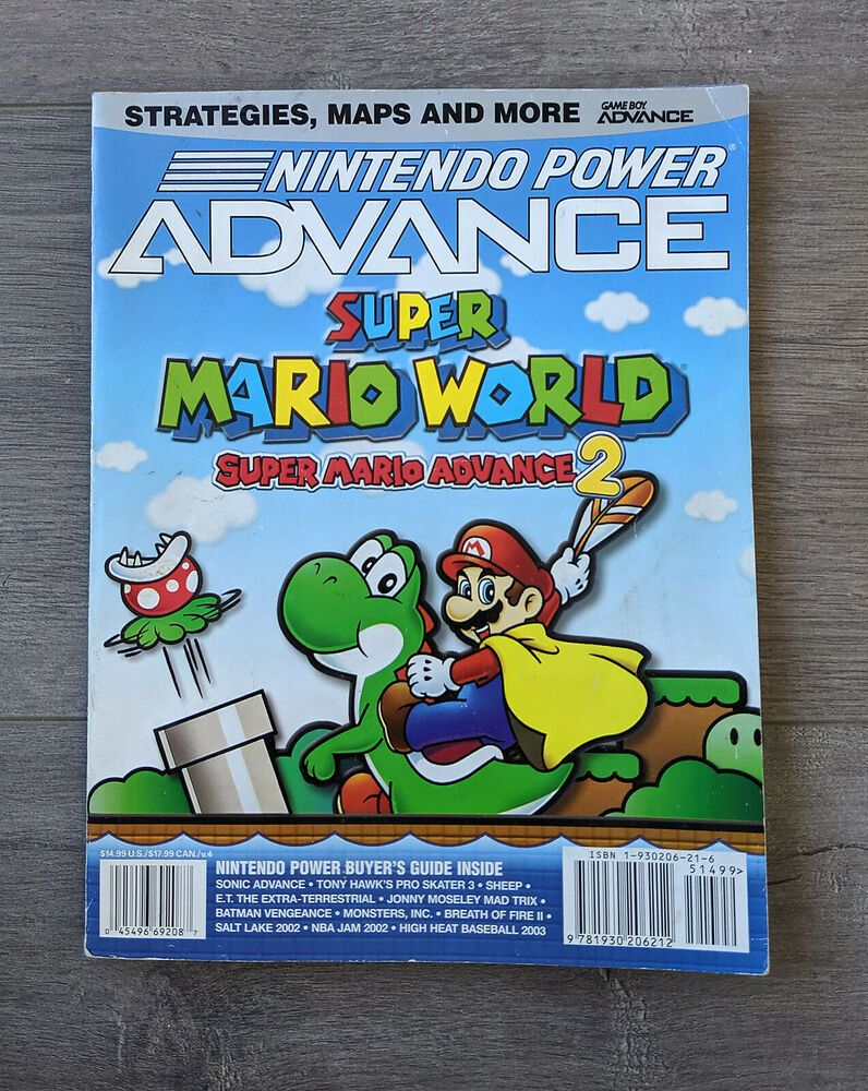 Official Nintendo Power Advance Super Mario World Advance 2