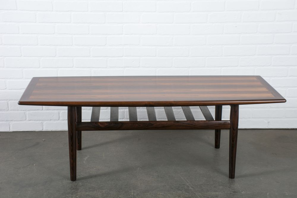 Danish Modern Rosewood Coffee Table By Grete Jalk Table Coffee Table Mid Century Modern